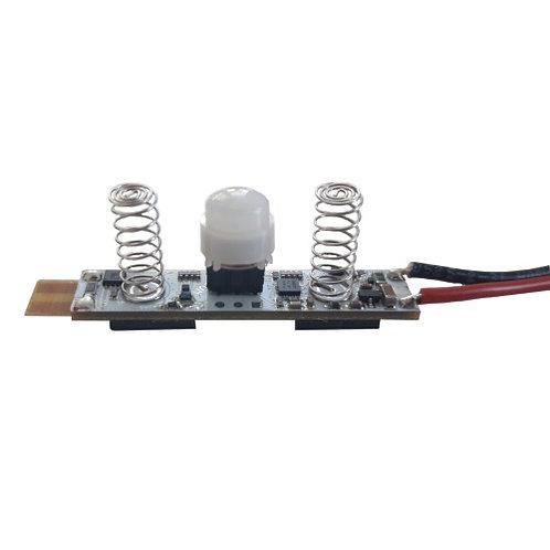 MiniModul Bewegungsmelder mit Helligkeitssensor 24V, 3A