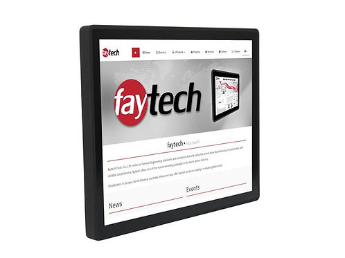 """17"""" kapazitiver Embedded Touch-PC (ARM V40)"""