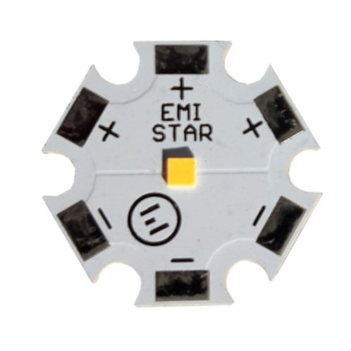 LED Star Nichia E21A, 20x20mm, ~3V, 4,55W, 2700K – 5700K,  100Stk.