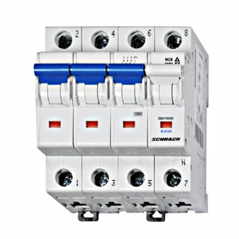 Sicherungsautomat, Kennlinie B, 4-polig