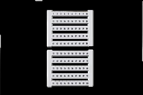 Weidmüller Klemmenmarkierer DEK 1-50 (50 Stk.)