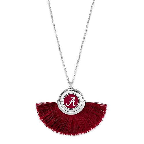 Alabama Pendant Tassel Necklace