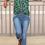 Thumbnail: 2 Button Cuffed Ankle Jean