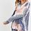 Thumbnail: French Terry Tie Dye Long Sleeve Loungewear Set
