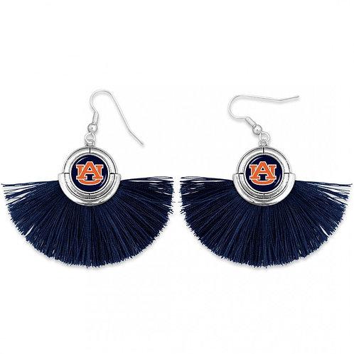 Auburn Tassel Drop Earrings