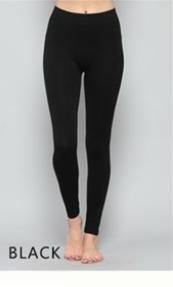 Curvy Black Legging