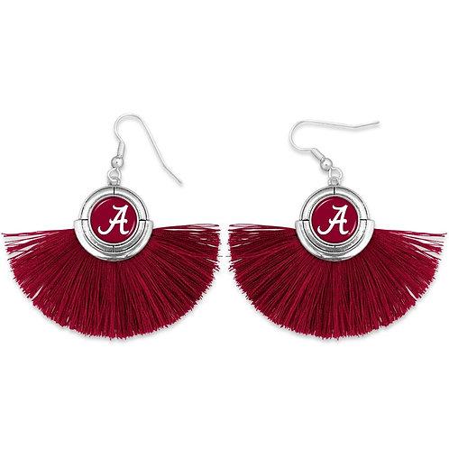 Alabama Tassel Drop Earrings