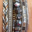 Thumbnail: Metallic Mixed Braided Stack Bracelets
