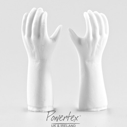Male Plaster hands