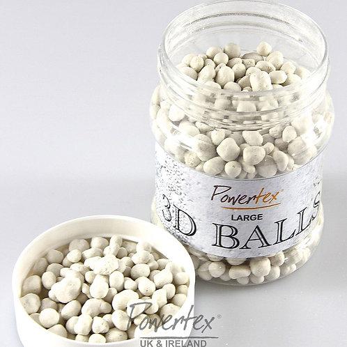 3D Large balls texture