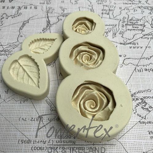 Roses mould set