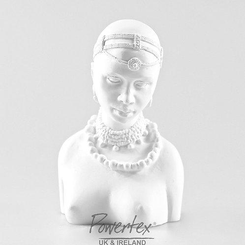'Mala' plaster bust, Masai collection