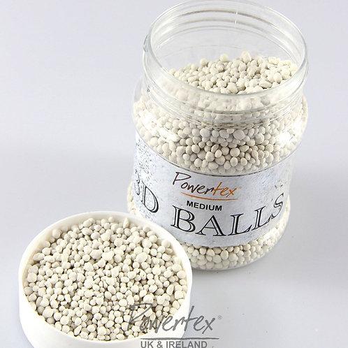 3D medium Balls texture