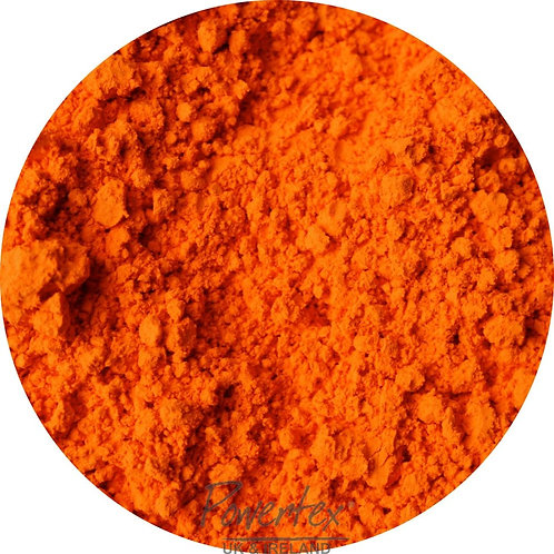 Orange Powercolor pigment powder