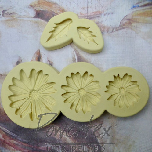Daisies mould set