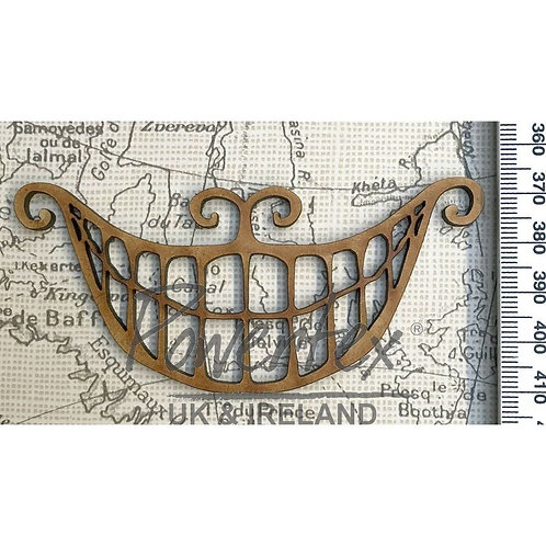'Cheshire cat grin' MDF