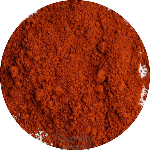 Red ochre Powercolour pigment powder