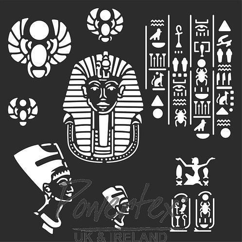 'Wonderful things' Egyptian Stencil