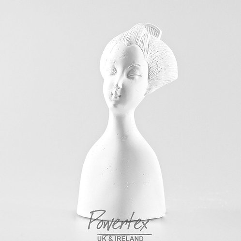 'Geisha 1' plaster bust, Geisha collection