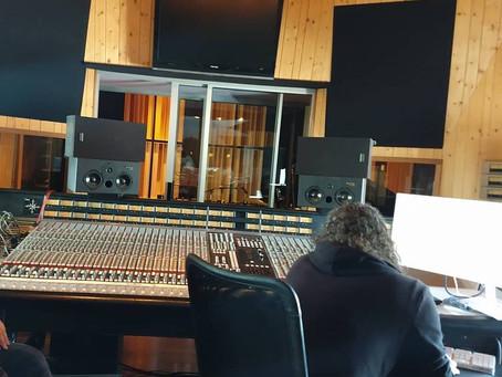 Hollow Illusion in the studio!!