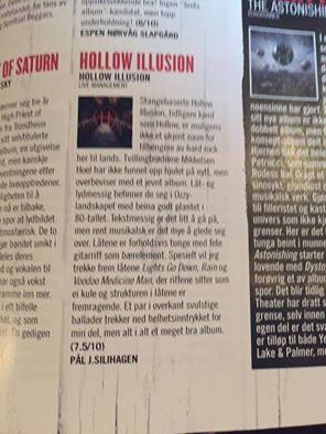 Great review from Metal HammerNorway