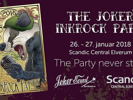 Hollow Illusion plays at :THE JOKER'S INKROCK PARTY, Elverum, Norway  on friday 26th of  January