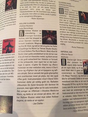 Great Review from Scream Magazine