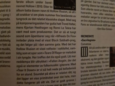 Thanks to Scream Magazine !