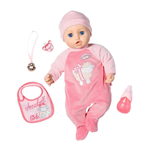 Baby Annabell Doll 43cm Interactive Doll