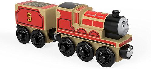 Thomas & Friends James - Wooden Train Engine