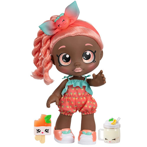Kindi Kids Snack Time Friends Summer Peaches Doll