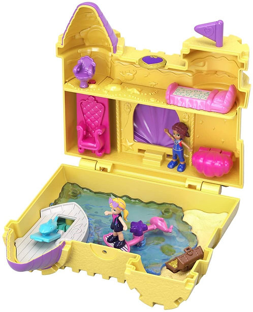 Polly Pocket World Surf 'N' Sandventure Compact Playset