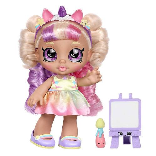 Kindi Kids Fun Time Friends MystaBella Doll Art Easel