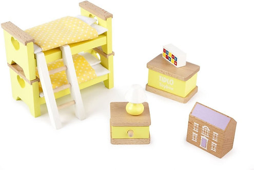 Dolls Children's Bedroom Set