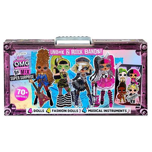 L.O.L. Surprise! O.M.G. Remix Super Surprise Dolls