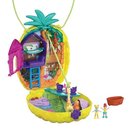 Polly Pocket Micro Tropicool Pineapple Purse Playset
