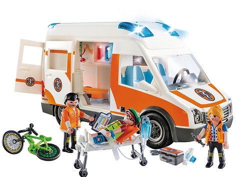 Side View Ambulance