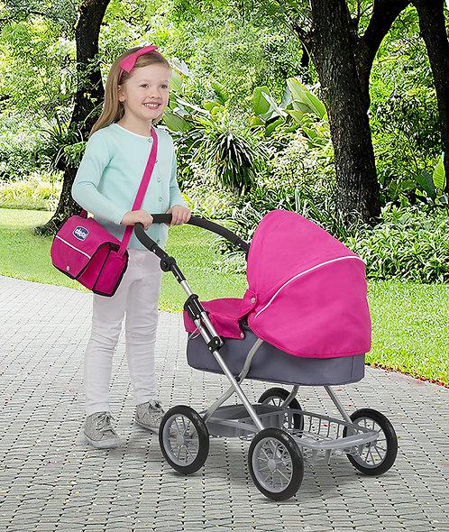 Chicco Capri Doll Pram with Matching Bag