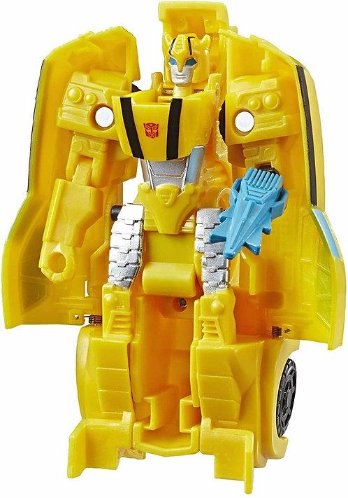 Transformers Bumblebee Cyberverse Adventures 1-Step Changer StingShot Bumblebee