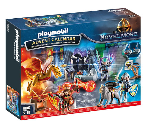 Playmobil Novelmore Advent Calendar 'Battle for the Magic Stone'