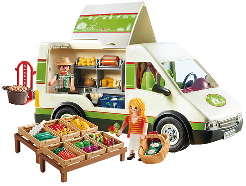 Playmobil 70134 Country Mobile Farm Market