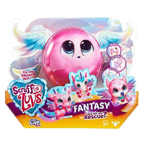 Scruff a luv fantasy rescue surprise plush