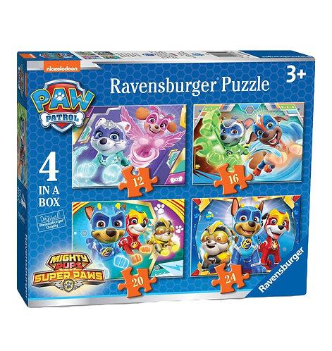 Paw Patrol 4 in a Box (12, 16, 20, 24pc) Jigsaw Puzzles 7033