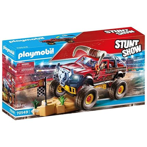 Playmobil 70551 Stunt Show Bull Monster Truck Playset