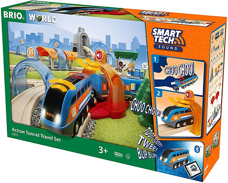 BRIO Smart Tech Action Tunnel Travel Set 33972