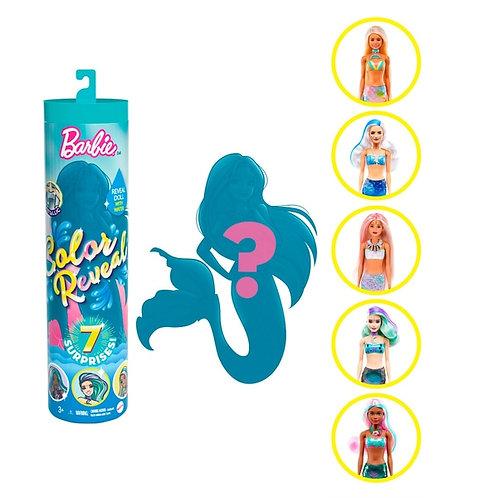 Barbie Colour Reveal Mermaid Doll Assortment Wave 4