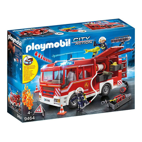 Playmobil 9464 City Action Fire Engine with Water Cannon