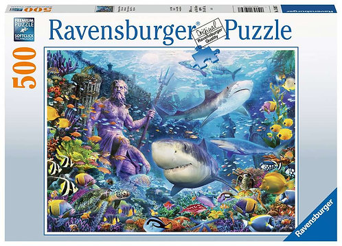 King of the Sea - 500 Piece Jigsaw Puzzle