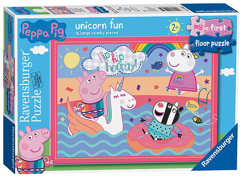 Peppa Pig Unicorn Fun First Floor Puzzle