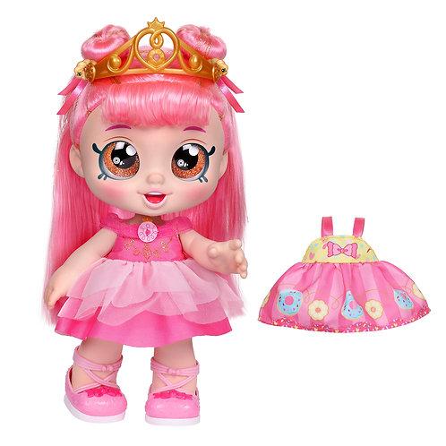 Kindi Kids Dress-Up Friends Donatina Doll Pink Hair